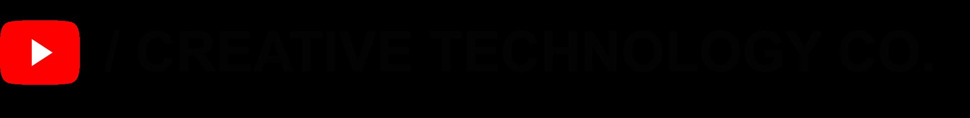 株式会社クリエイティブテクノロジーYouTube